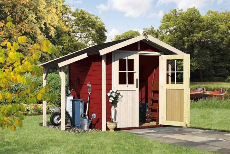 gartenhaus im schwedenstil gartenhaus2000 online magazin. Black Bedroom Furniture Sets. Home Design Ideas