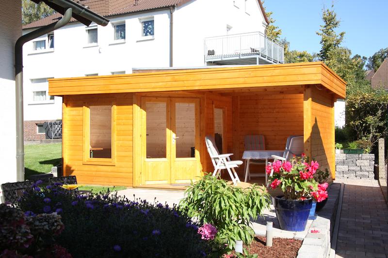 wolff finnhaus gartenhaus maja 40 a mit terrasse 549x299cm. Black Bedroom Furniture Sets. Home Design Ideas