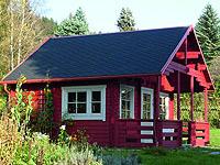 Gartenhaus schwedenstil  Gartenhaus im Schwedenstil - Gartenhaus2000 Online Magazin