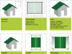 Gartenhaus Konfigurator   Gartenhaus nach Maß planen