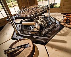 gartenhaus2000 magazin grillplatz im garten die grillkota. Black Bedroom Furniture Sets. Home Design Ideas