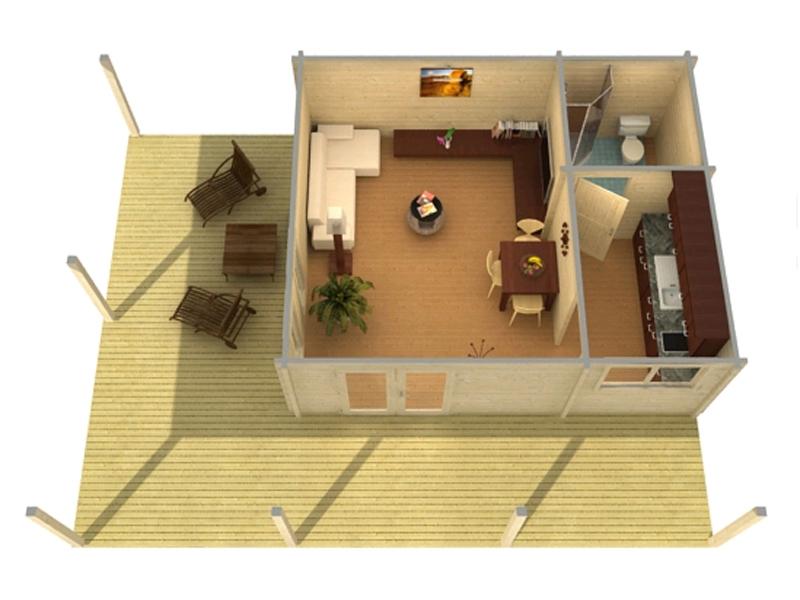 blue nile ferienhaus aus holz bei gartenhaus2000 kaufen. Black Bedroom Furniture Sets. Home Design Ideas