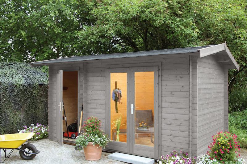 2 raum gartenhaus amrum 28 bei gartenhaus2000 kaufen. Black Bedroom Furniture Sets. Home Design Ideas