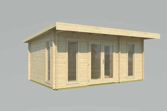 barbados 4 gartenhaus mit 2 r umen bei gartenhaus2000. Black Bedroom Furniture Sets. Home Design Ideas