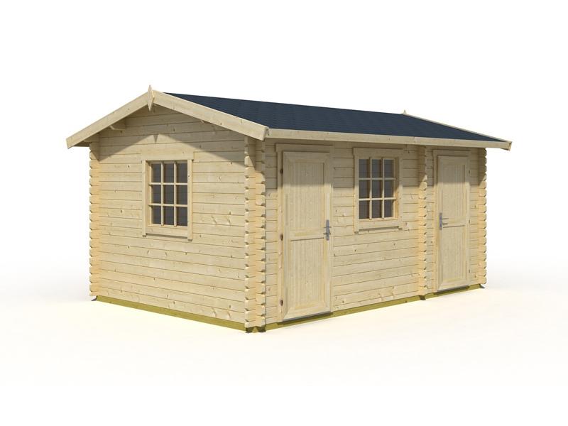 2 raum gartenhaus bora von lasita maja online kaufen. Black Bedroom Furniture Sets. Home Design Ideas