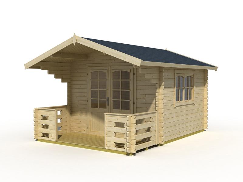 Unterschiedlich Holz Gartenhaus Capri 28 bei Gartenhaus2000 kaufen DF76