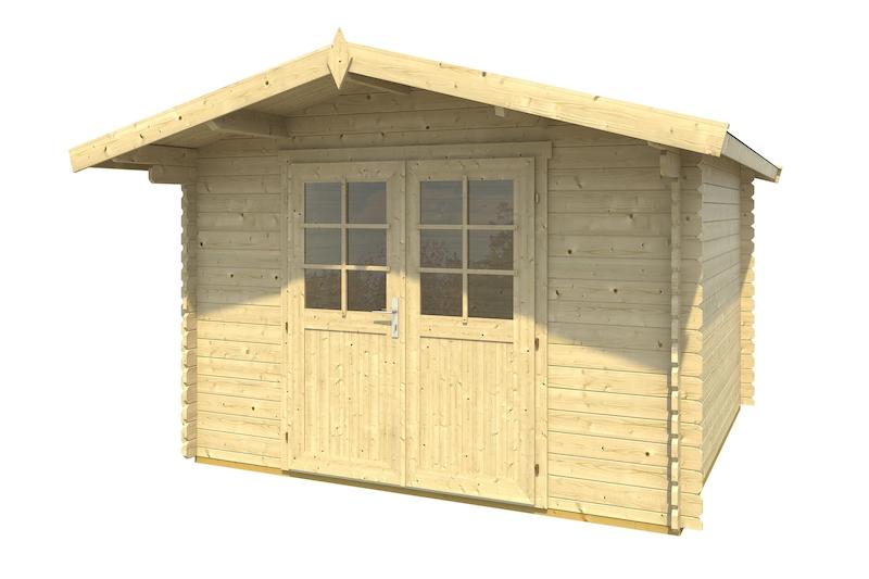 holz gartenhaus cyprus 2d bei gartenhaus2000 kaufen. Black Bedroom Furniture Sets. Home Design Ideas