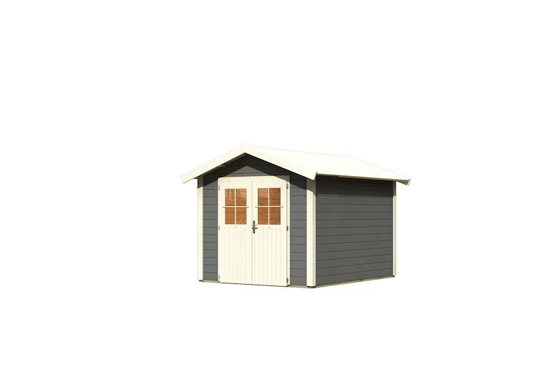 gartenhaus espelo 4 bei gartenhaus2000. Black Bedroom Furniture Sets. Home Design Ideas