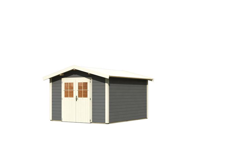 gartenhaus espelo 8 bei gartenhaus2000. Black Bedroom Furniture Sets. Home Design Ideas
