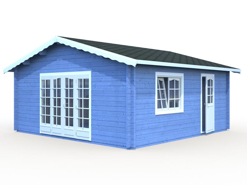 Palmako Gartenhaus Irene 27,7 m² bei Gartenhaus2000