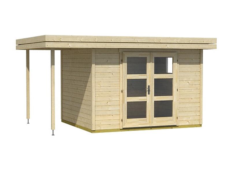 sumatra 2 gartenhaus mit schleppdach von lasita maja. Black Bedroom Furniture Sets. Home Design Ideas