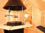 grillkota mit saunaanbau rot von wolff finnhaus. Black Bedroom Furniture Sets. Home Design Ideas