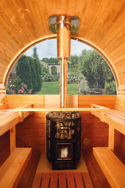 saunafass 280 de luxe bausatz bei gartenhaus2000. Black Bedroom Furniture Sets. Home Design Ideas