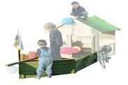kinderspielhaus set hobbit pirat bei gartenhaus2000