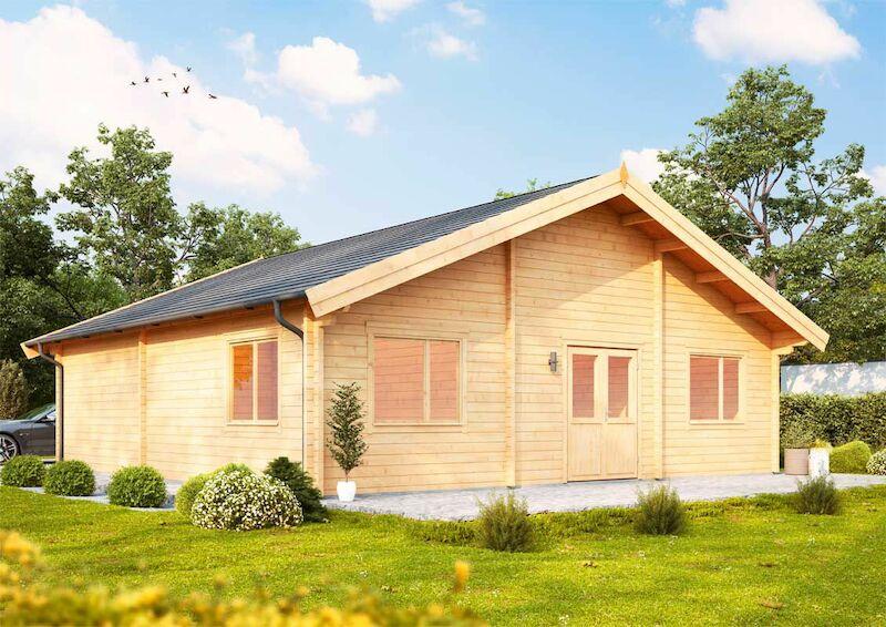 holzferienhaus westerwald 92 von wolff finnhaus. Black Bedroom Furniture Sets. Home Design Ideas