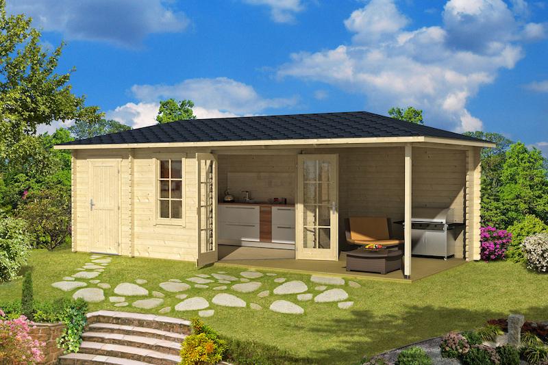 Gartenhaus Aruba 3B