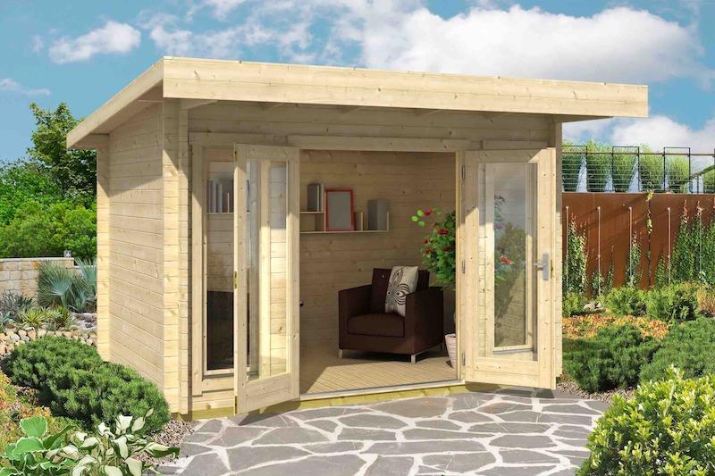 Lasita Maja Gartenhaus Barbados Mini bei Gartenhaus2000