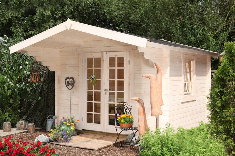 holz gartenhaus bergen 58 b von wolff finnhaus kaufen. Black Bedroom Furniture Sets. Home Design Ideas