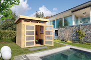 gartenhaus kaufen im gartenhaus shop gartenhaus2000. Black Bedroom Furniture Sets. Home Design Ideas