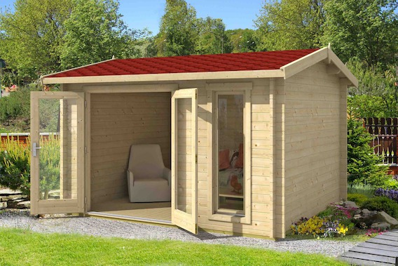 carlisle gartenhaus mit satteldach bei gartenhaus2000. Black Bedroom Furniture Sets. Home Design Ideas
