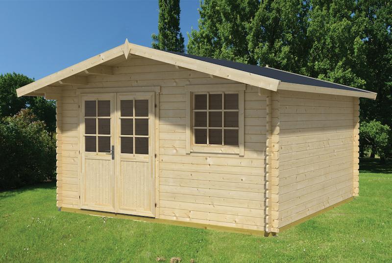 Cyprus 4E Gartenhaus aus Holz bei Gartenhaus2000