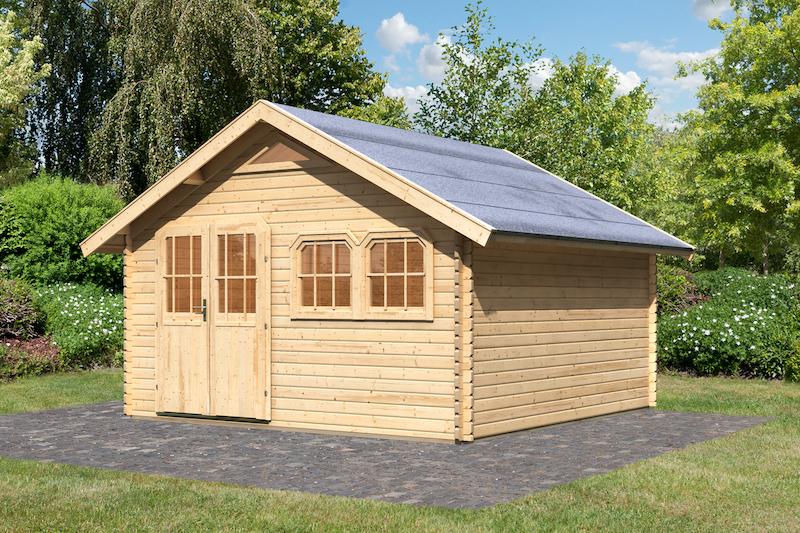 gartenhaus doderic 5 bei gartenhaus2000. Black Bedroom Furniture Sets. Home Design Ideas
