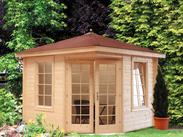 gartenhaus 28mm von wolff finnhaus bei gartenhaus2000. Black Bedroom Furniture Sets. Home Design Ideas