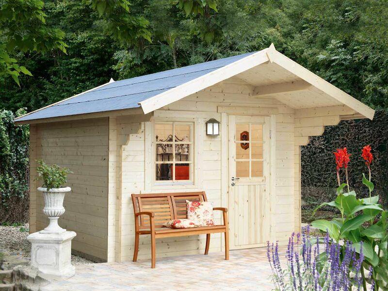 holz gartenhaus monika 34 a von wolff finnhaus. Black Bedroom Furniture Sets. Home Design Ideas