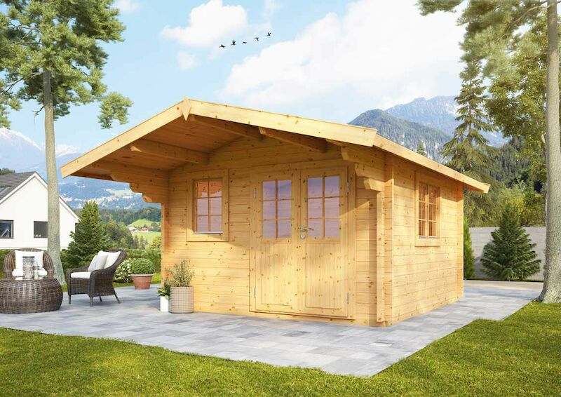 Gartenhaus nordkap 70 a von wolff finnhaus kaufen - Gartenhaus 2000 ...