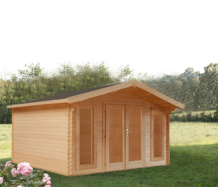 modernes gartenhaus rotterdam bei gartenhaus2000. Black Bedroom Furniture Sets. Home Design Ideas