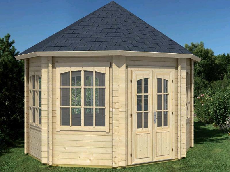 gartenpavillon holz rio grande von lasita maja. Black Bedroom Furniture Sets. Home Design Ideas