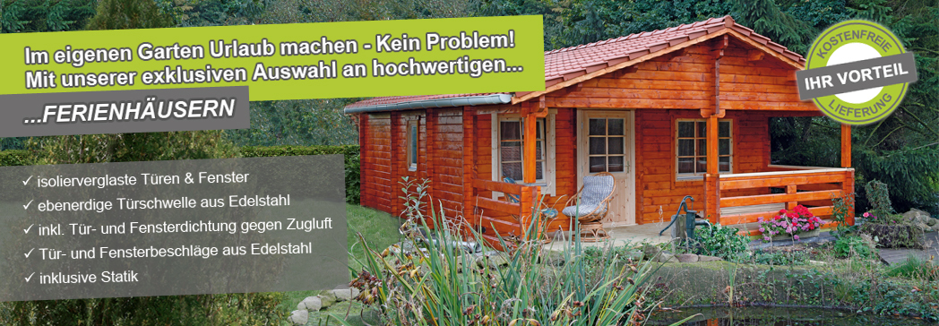 ferienh user 92 mm von wolff finnhaus bei gartenhaus2000. Black Bedroom Furniture Sets. Home Design Ideas